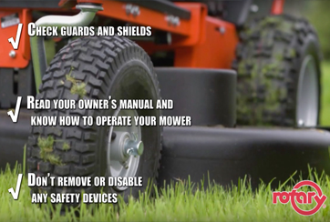 Rotary Corporation Lawn Mower Safety Tips